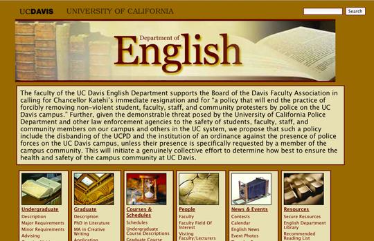 uc davis creative writing application